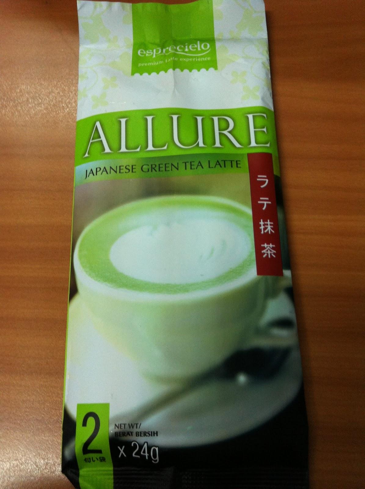 Allure Green Tea Latte Untuk Diet